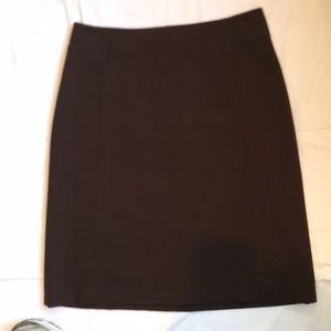 Brown Banana Republic midi Skirt